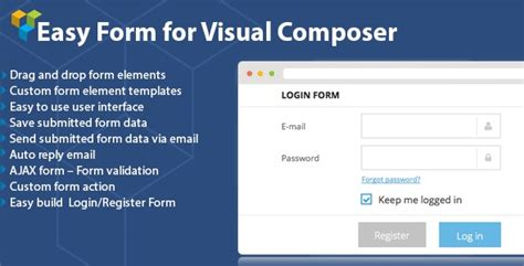 visual studio form templates dhvc form v2 0 4 form for visual composer