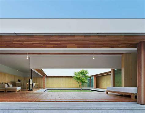 minimalist housing japanese cloister minimalist house designed by tezuka