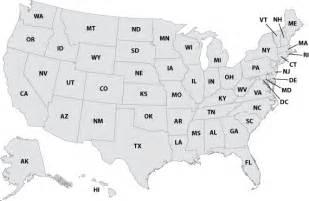 numbered map of usa printable maps us map printable
