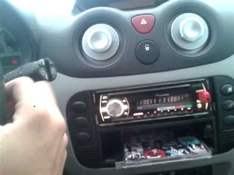 citroen c3 al volante comandi al volante pluriel funzionano