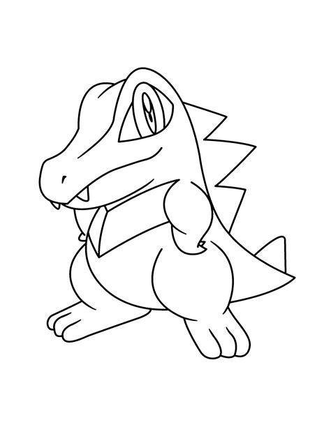 pokemon coloring pages totodile pokemon coloring pages totodile 187 coloring pages kids