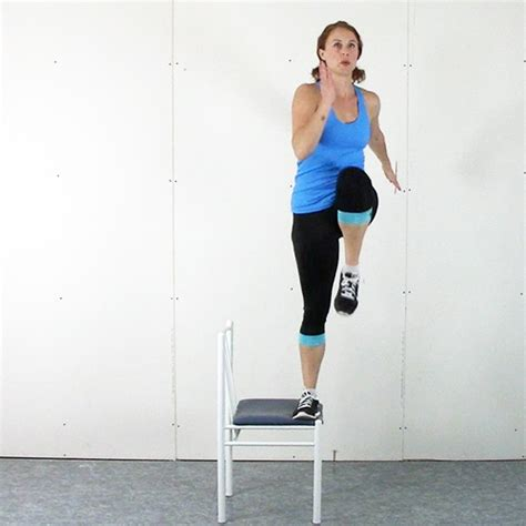 Chair Step Ups by How To S Alphabetical Roller Derby Athletics
