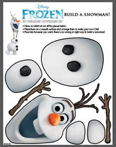 disney frozen olaf printable sisters shopping farm and home