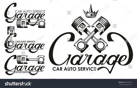 car service logo garage car auto service logo image vectorielle 384068125