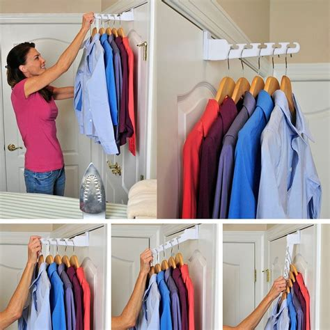 The Door Clothes Rack by The Door Hanger White Holder Rack Hook Clothing
