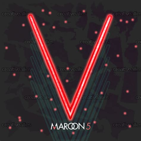 maroon v album image gallery maroon 5 artwork