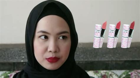 Lipstik Purbasari Daily purbasari daily series lipstick review swatches