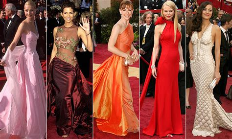 best oscar the best oscar dresses