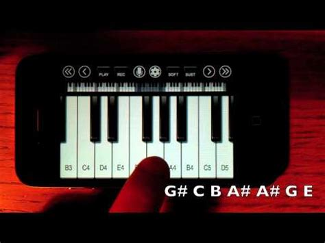 tutorial piano harry potter harry potter theme iphone ipod touch piano tutorial youtube