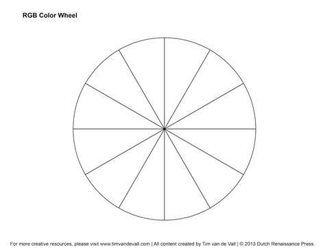 spinning color wheel 5 best images of spinning color wheel template printable