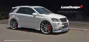 Mercedes Kits Mercedes Ml W164 Tuning Wide Kit Lenzdesign