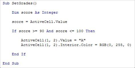 Activecell Interior Color by Excel Vba Programming Practice 1