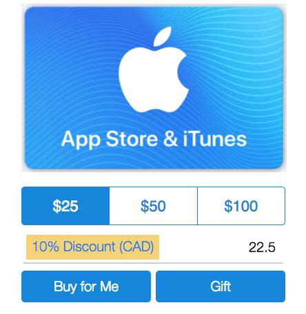 Itunes Gift Card Balance Canada - paypal digital gifts promo 10 off app store itunes gift cards iphone in canada blog