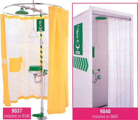 safety shower curtain haws emergency equipment 2008 emergency showers