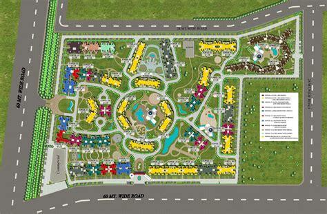 layout village eco village 2 noida extension supertech eco village ii