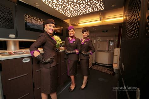 Etihad Cabin Crew by Gino Bertuccio To Fly The Residence By Etihad