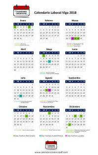 Calendario 2018 Vigo Calendario Laboral De Vigo 2018 161 Desc 225 Rgalo Gratis