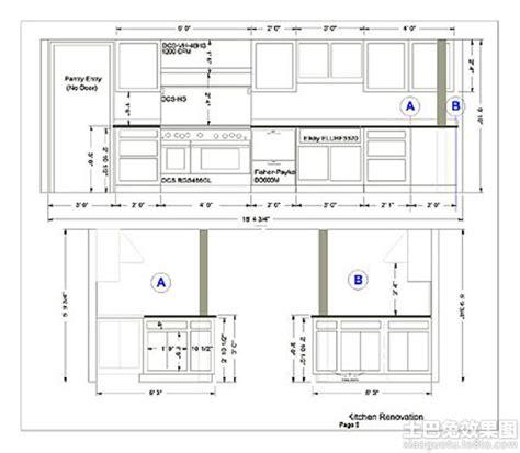 plans for kitchen cabinets 橱柜内部设计效果图 土巴兔装修效果图