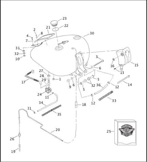 Harley Davidson Gas Tank Wiring Wiring Diagram