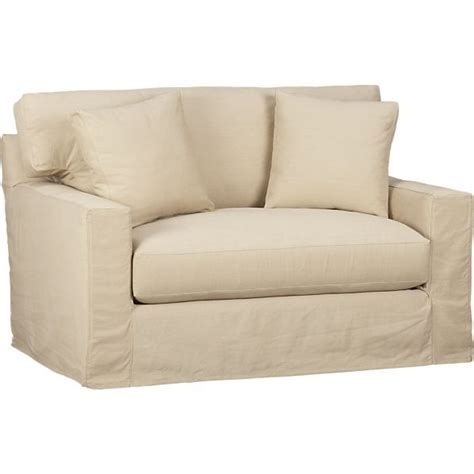 sofa with twin sleeper axis slipcovered twin sleeper sofa
