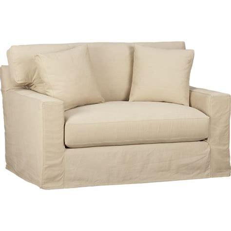sleeper twin sofa axis slipcovered twin sleeper sofa