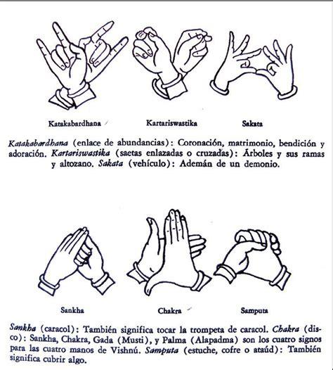 imagenes de simbolos con las manos india gestos de mudras taringa