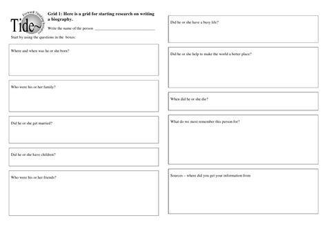 biography quiz worksheet biography