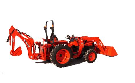 L Attachment by Ansung Bk440 Backhoe Attachment For Kubota L4400 Tractor