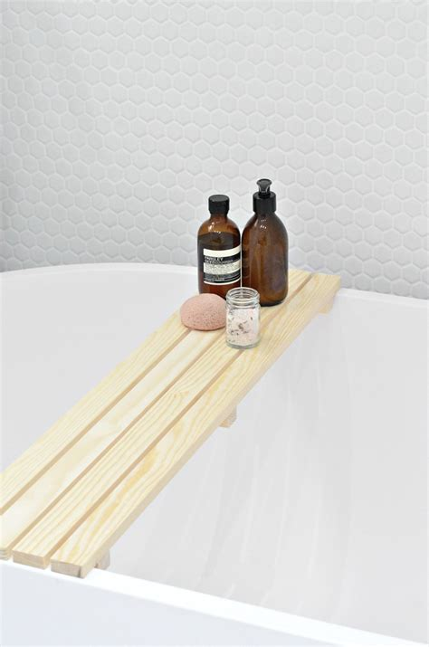bathtub tray wood 19 easy wood craft projects for under 10