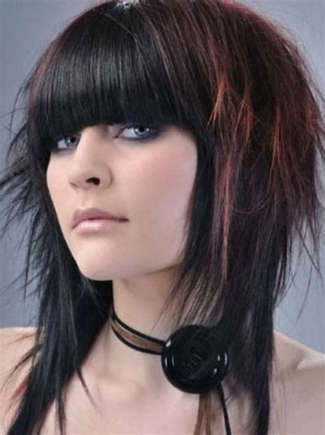 funky fringes 2013 funky haircuts for long hair
