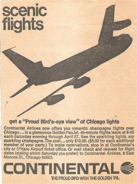 ad courtesy of e news 2010 photos of anistons lolavie promotion ride a romantic chagne flight over chicago for 10
