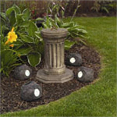 solar rock lights for garden solar lighting