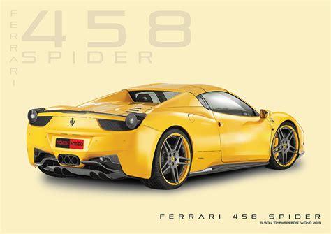 ferrari 458 sketch ferrari 458 spider technical drawing illustrator by