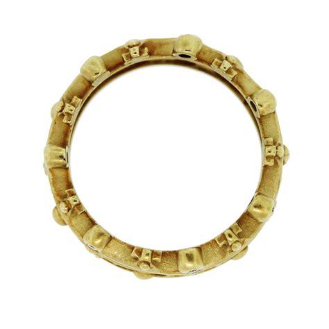 kieselstein 18k yellow gold crown ring boca
