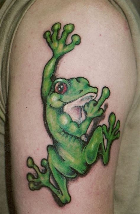 53 latest frog tattoos pictures and designs
