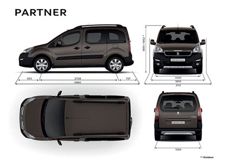 peugeot partner dimensions car specifications peugeot partner leasing driveaway