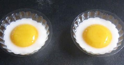 Menu 01 Kreasi Serba Puding resep kreasi puding bentuk telur ceplok buku resep kue