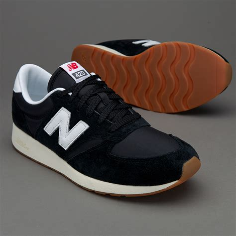 sepatu sneakers new balance original 420 black