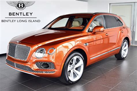 orange bentley interior 2018 bentley bentayga onyx bentley long island vehicle