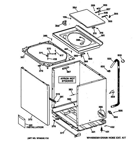 hotpoint washer parts diagram hotpoint washer controls backsplash parts model