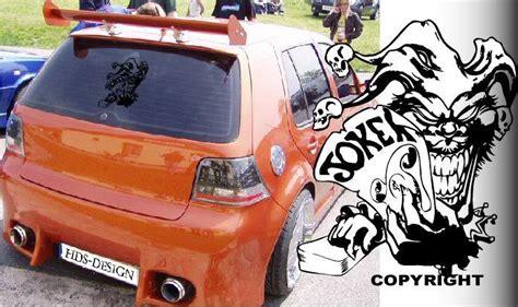 Autoaufkleber Joker joker car sticker decal karten autoaufkleber auto