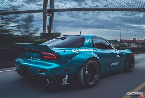 widebody rx7 tuning mazda rx 7 widebody back