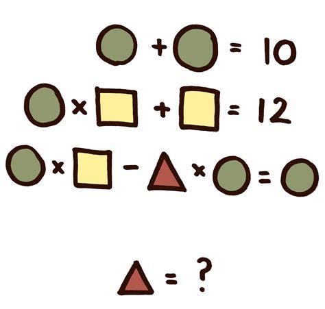 imagenes acertijos matematicos resuelve el acertijo de las figuras geom 233 tricas
