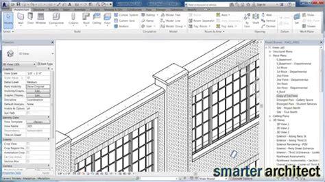 revit tutorial walls revit tutorials creating wall pilasters youtube