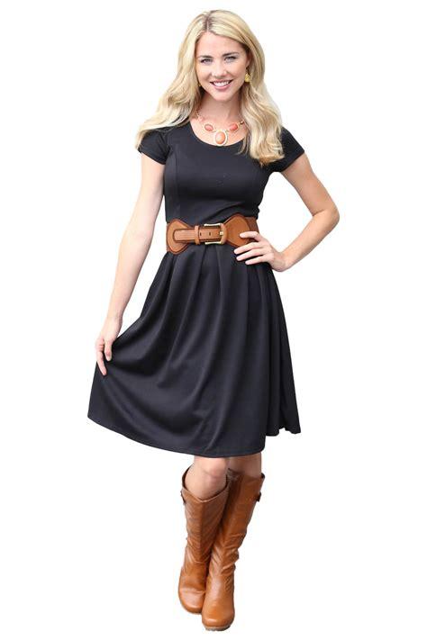 Dress In Black modest dress in black