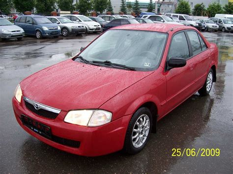 used 1999 mazda protege photos 1598cc gasoline ff