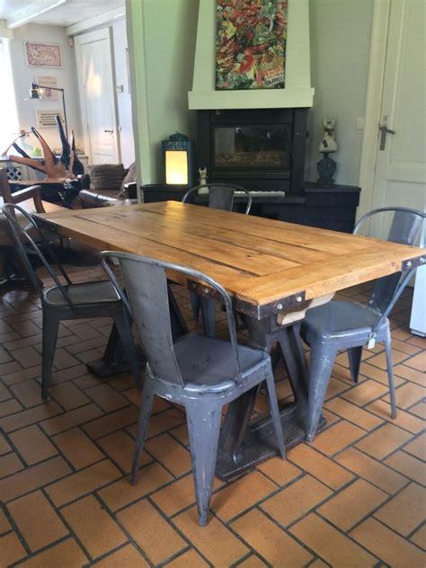 Table A Manger Industrielle 91 by 201 Pingl 233 Par Blandine Soulet Sur Deco Int 233 Rieure