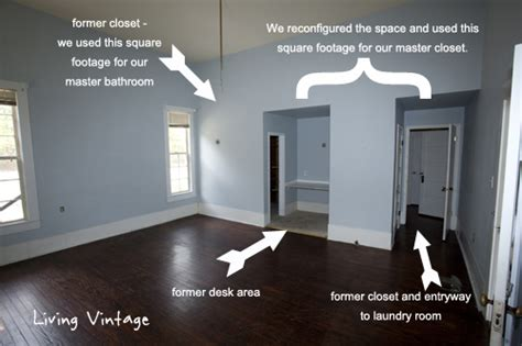 Adding Walk In Closet To Bedroom by What We Ve Done So Far In Our Master Bedroom Living Vintage