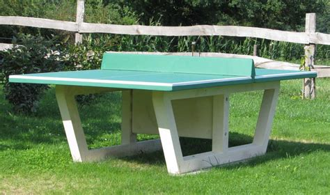 guidance on buying an outdoor ping pong table front yard