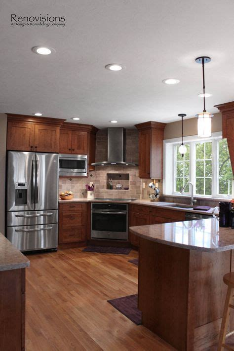 1000 ideas about corner stove on cherry wood cabinets cherry cabinets and stoves